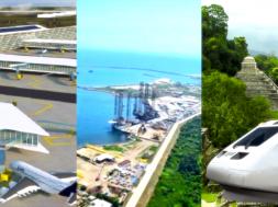 Dos Bocas, Santa Lucía y tren maya
