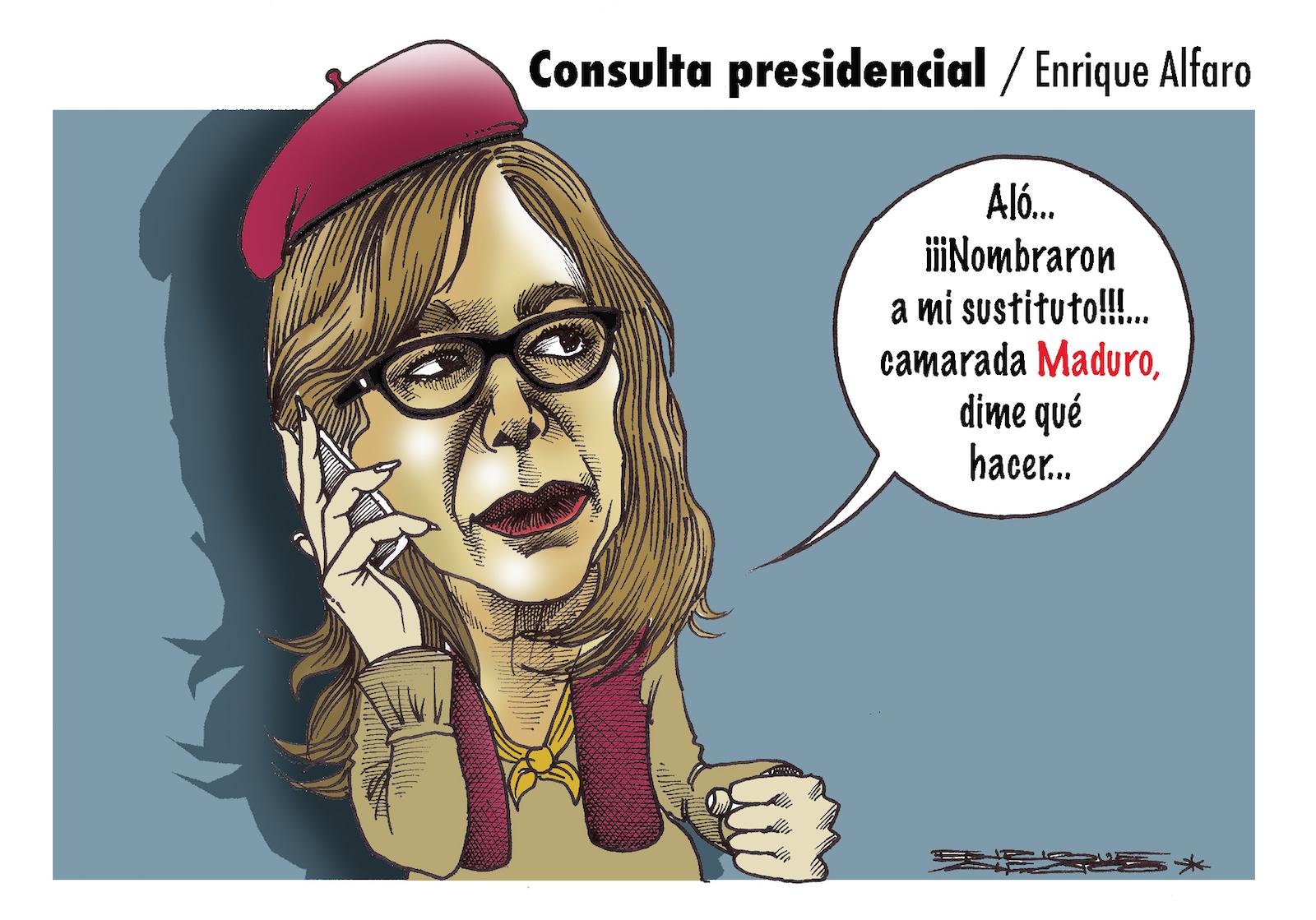 Consulta presidencial / Enrique Alfaro