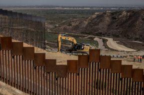 construcción de Muro a Trump