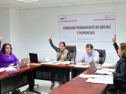 Aprueba la Comisión Permanente de Quejas y Denuncias medidas cautelares por probables violaciones a la normatividad electoral