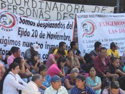 CIOAC protesta en Tuxtla