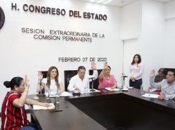 Convoca Comisión Permanente a Período Extraordinario de Sesiones