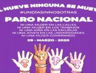 Convocan a paro nacional de mujeres en protesta por feminicidios