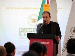 Alfonso Durazo Montaño cerrar fronteras
