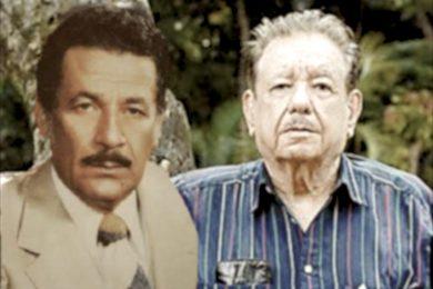 Juan Sabines y Enoch Cancino