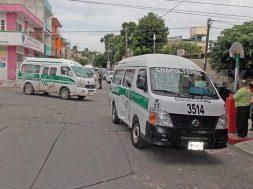 Chiapas limita el servicio de transporte público para atender la emergencia sanitaria