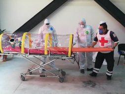 Cruz Roja Mexicana en Chiapas se prepara para atender posibles traslados de pacientes con COVID-19