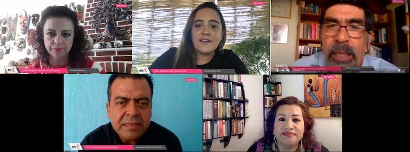 Realiza IEPC conversatorio virtual sobre el reglamento para atender consultas indígenas en materia electoral