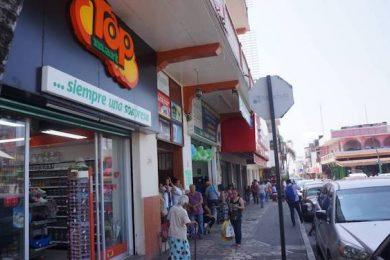 comercios, Tapachula, coronavirus, venta baja