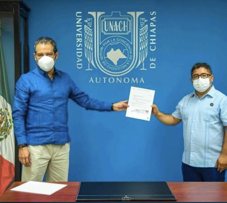 Designan nuevo director de Servicios Escolares en la UNACH