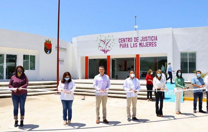 Inaugura Rutilio Escandón Centro de Justicia para las Mujeres en Tapachula