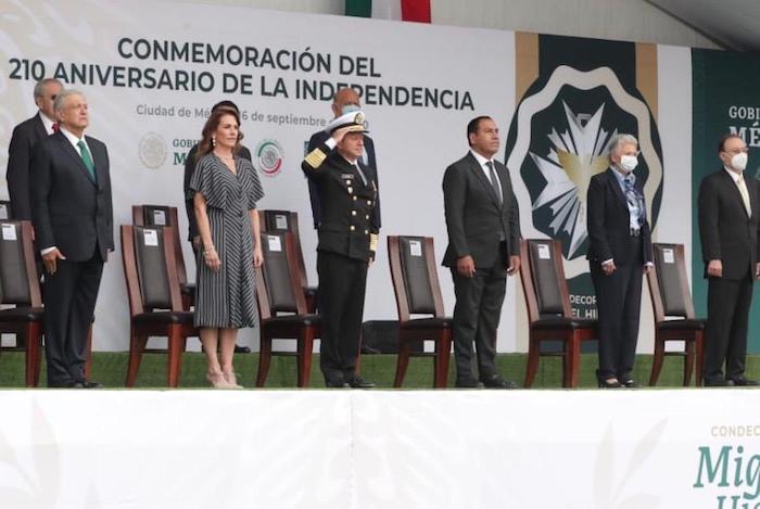 Así conmemoraron 210 Aniversario de la Independencia de México