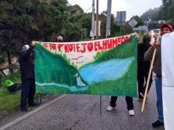 Humedales protesta