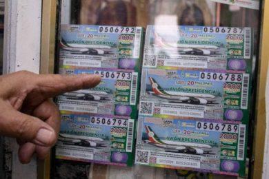 Lotería avión