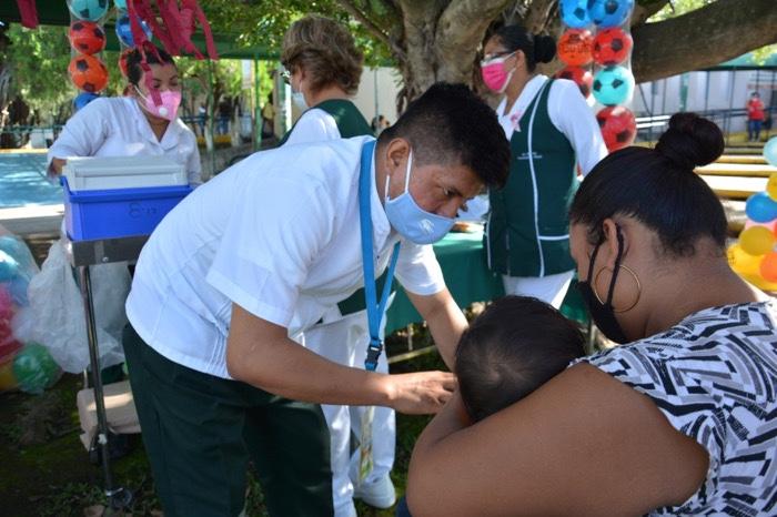 El IMSS tiene como meta aplicar 151 mil 698 dosis de vacuna anti-influenza en Chiapas