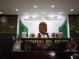 Sesión congreso Chiapas