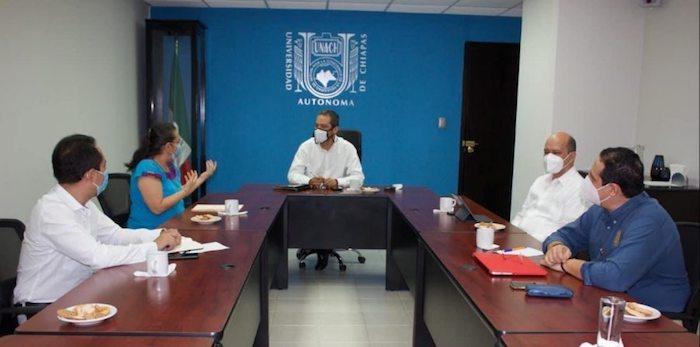 Desarrollarán UNACH y SEMAHN Proyecto de Bosques Universitarios