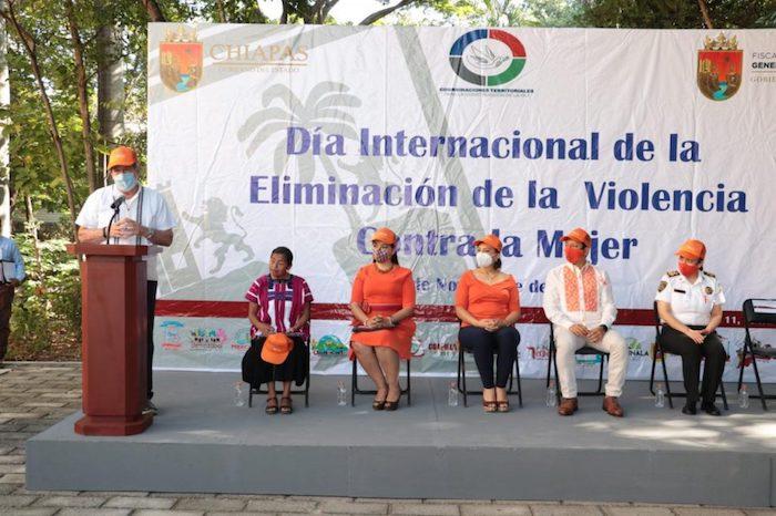Conmemoran el Día Internacional para la Eliminación de la Violencia Contra la Mujer