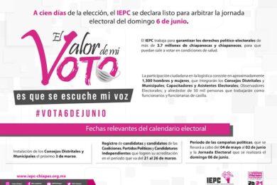 100 DÍAS DE LA ELECCIÓN_IEPC