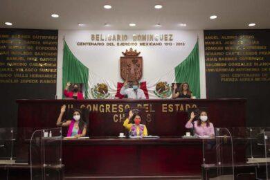 SESION CONGRESO DE CHIAPAS