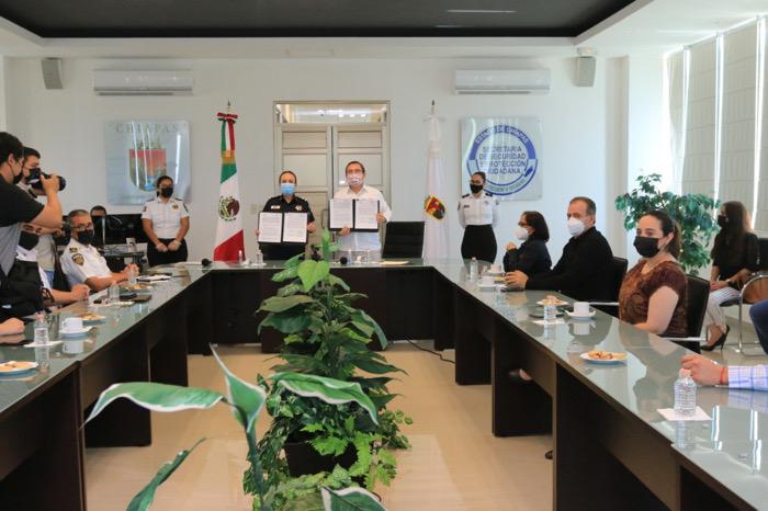 La SSyPC coadyuvará con IEPC para que las elecciones sean pacíficas y tranquilas