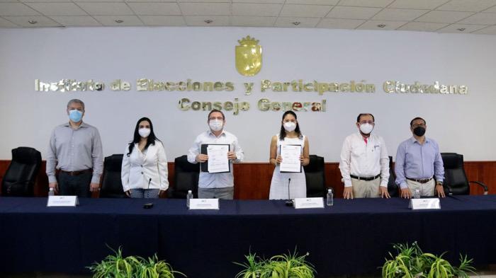 IEPC y Consejo del Sistema Anticorrupción acuerdan colaboración para reforzar la integridad Electoral