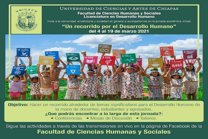 Organiza UNICACH jornada sobre Desarrollo Humano