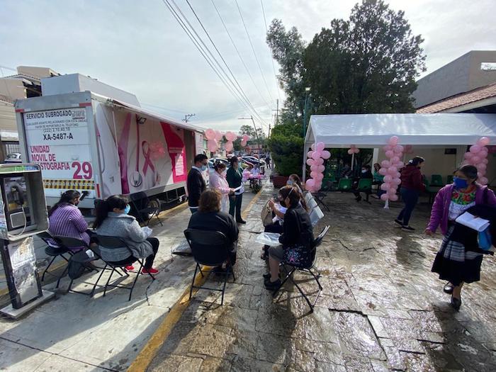 IMSS Chiapas realizará mastografías en unidad móvil para detectar oportunamente el cáncer de mama