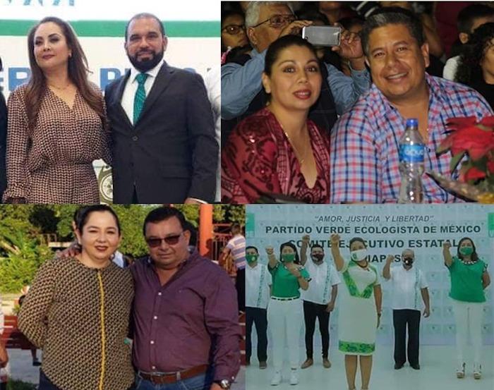 PVEM y Morena, fortalecen cacicazgos en Copainalá, Bochil, Altamirano y Catazajá