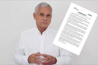 RENUNCIA JOSÉ ANTONIO AGUILAR BODEGAS