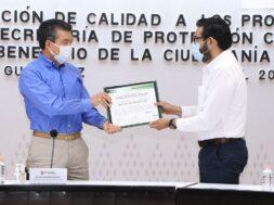 certifican protección civil en Chiapas