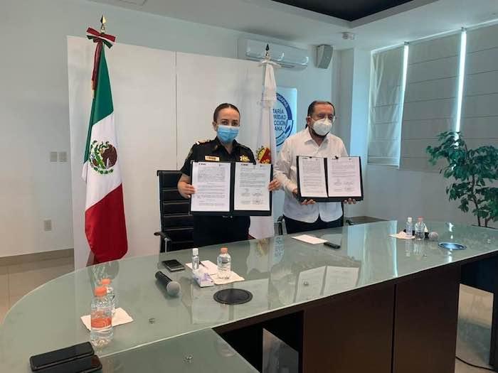 SSPC de Chiapas, aliada para garantizar la seguridad de la documentación electoral: INE