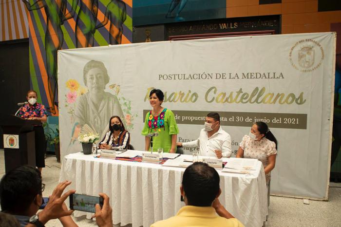 Congreso presenta convocatoria para postulación de candidatos a Medalla Rosario Castellanos