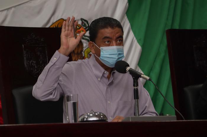 Aprueba Congreso de Chiapas licencia al presidente municipal de Suchiapa