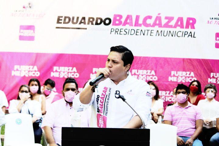 Él es Eduardo Balcázar, el más joven en la contienda por Tuxtla / En la Mira