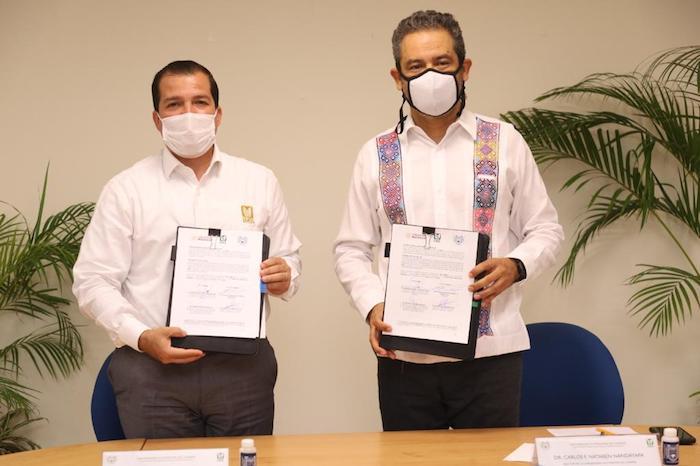 Suscriben IMSS y UNACH acuerdos para fortalecer la formación de los estudiantes