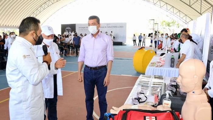 Arranca Jornada Nacional de Salud Pública 2021 en Chiapas