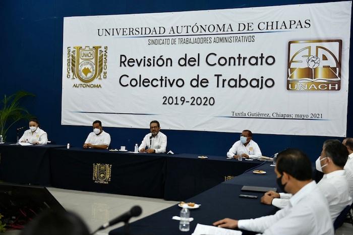 Inician negociación del Contrato Colectivo de Trabajo con el STAUNACH