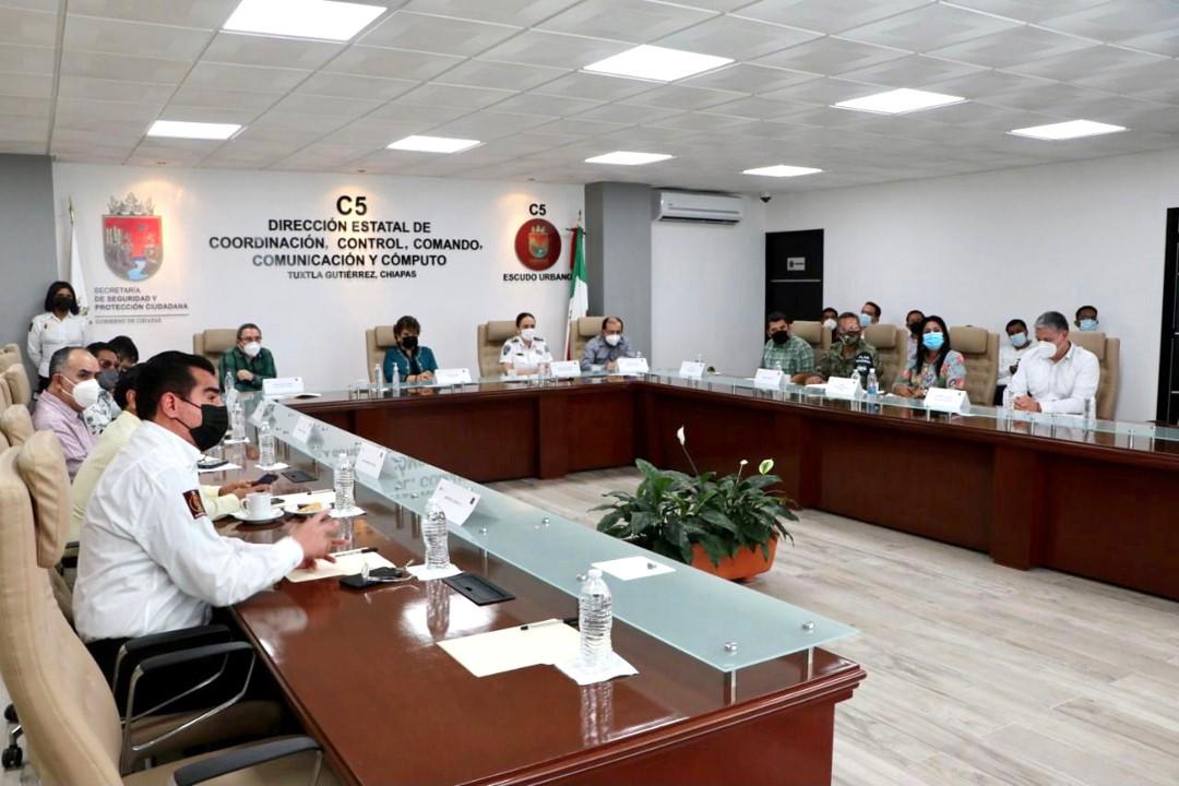 Segunda reunión de mesa interinstitucional para la seguridad de las elecciones
