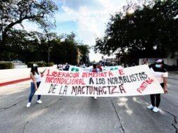 estudiantes detenidos mactumactza