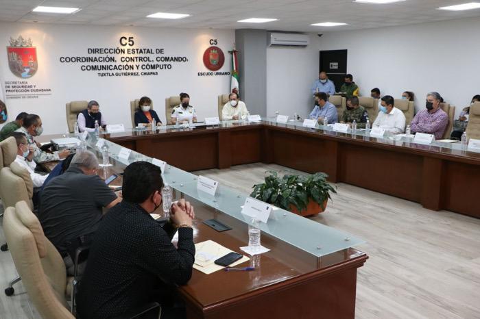 IEPC, INE y autoridades de seguridad reafirman su compromiso de coordinación interinstitucional para la elección del 6 de junio