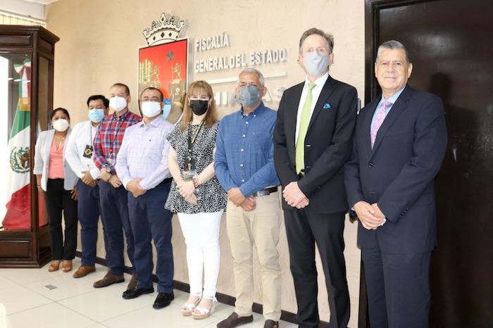 FGE presenta avances del ePenal en Chiapas, ante integrantes de la Embajada de Estados Unidos