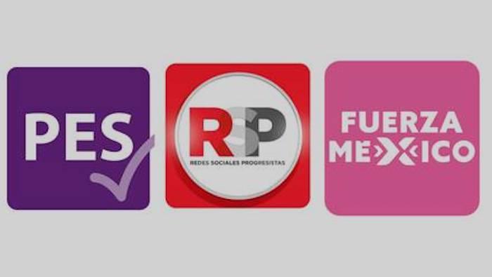 Perderán su registro PES, RSP y Fuerza por México