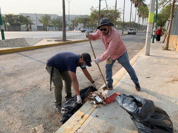 Impulsan campaña de limpieza en Tuxtla