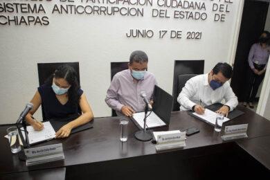 firma de convenio Congreso de Chiapas