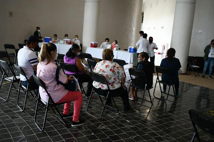 Finaliza IMSS Chiapas Jornada de Vacunación de segunda dosis para adultos de 50 a 59 años