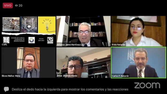 Celebró UNACH 10 años de la Reforma Constitucional de Derechos Humanos