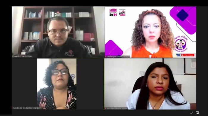 """Realiza IEPC Conversatorio Virtual """"Monitoreo de Medios de Comunicación con Perspectiva de Género en el Proceso Electoral Local 2021"""""""