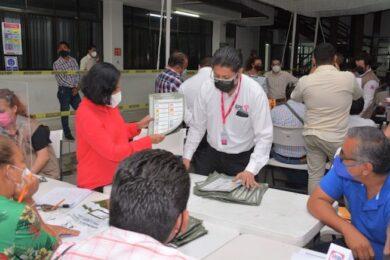 Escrutinio y cómputo IEPC Huixtla