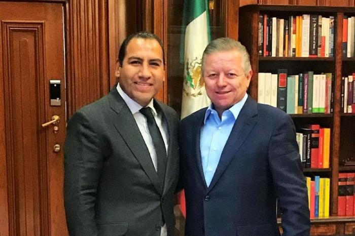 Arturo Zaldivar reconoce gestión de Eduardo Ramírez, como presidente del Senado